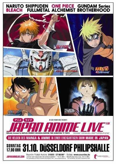 """Am 31.10 ist es endlich soweit und das Langersehnte Event """"Japan Anime Live"""" startet in Deutschland! Und ich bin Glücklicher Besitzer von 2 Karten die ich Glücklicherweise vom Animexx Geschenkt bekommen habe!"""